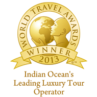 Indian Oceans leading luxury tour operator 2013 winner