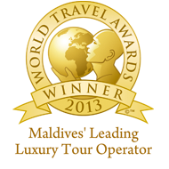 Maldives Leading Luxury Tour Operator 2013 winner