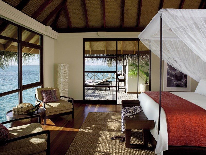 sunset Two-Bedroom Water Bungalow