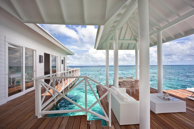 Diamonds Thudufushi Beach Amp Water Villas Lets Go Maldives