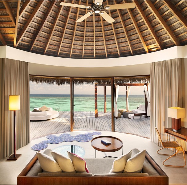 Ocean Oasis Retreat Interior
