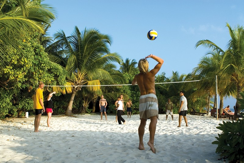Vilamendhoo, Beach Volleyball