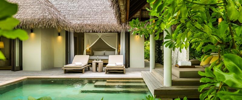 COMO Maalifushi - Beach Villa Exterior