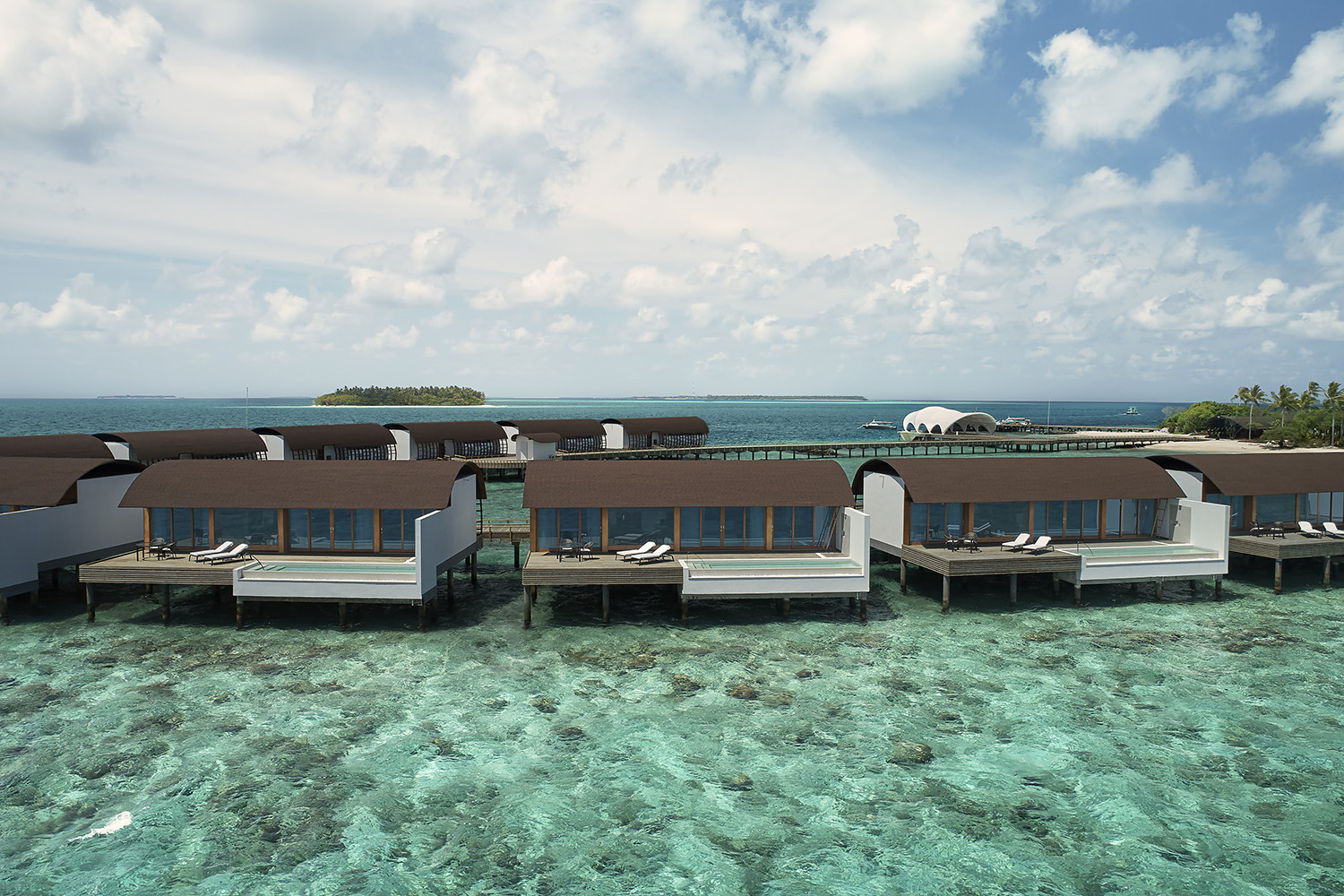 Westin Maldives - Overwater Suite Pool Exterior Day web