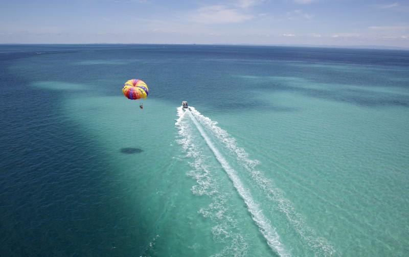aqua parasailing