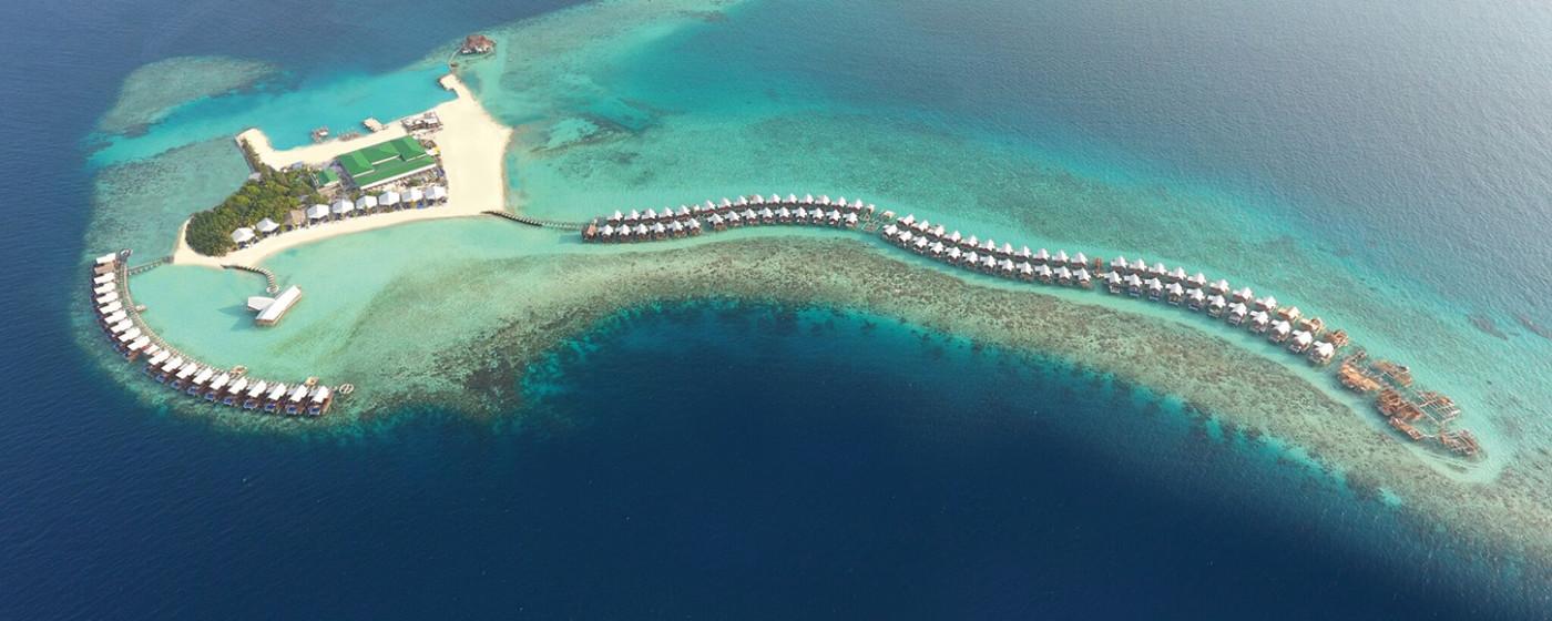 Grand Park Kodhipparu, Maldives aerial