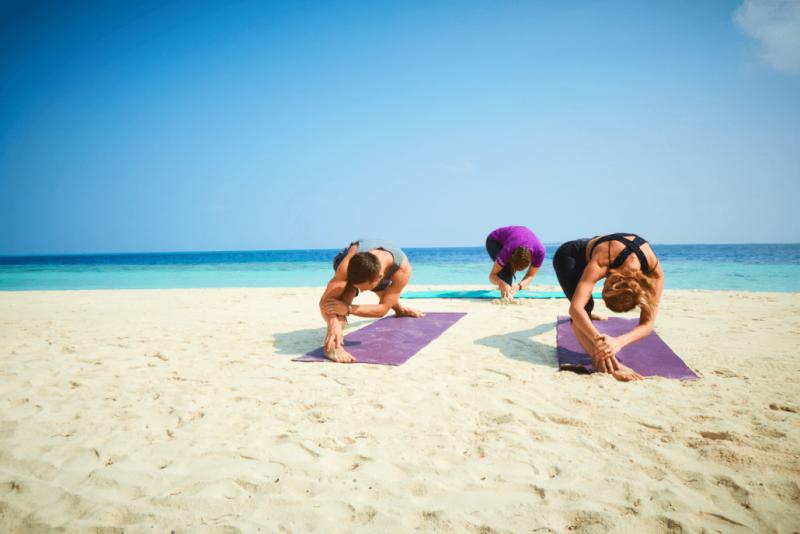 Kagi Maldives yoga