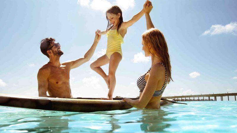 family resorts maldives